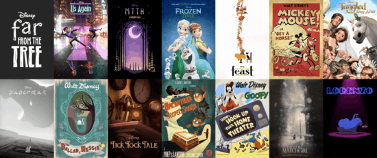 List of Walt Disney animated short films