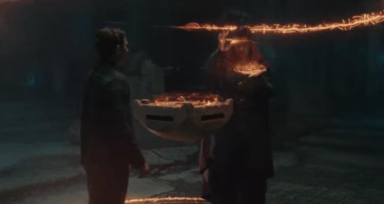 Doctor Strange casting spell for Peter Parker