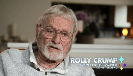 Disney Imagineer Rolly Crump