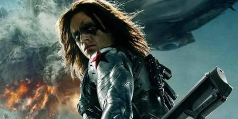 Sebastian Stan as Bucky Barnes aka Winter Solider in Captain America Marvel