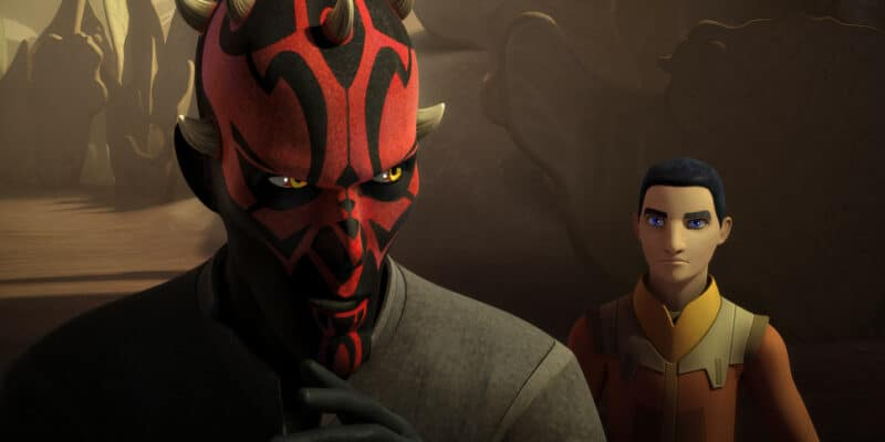 star wars rebels visions and voice maul with ezra