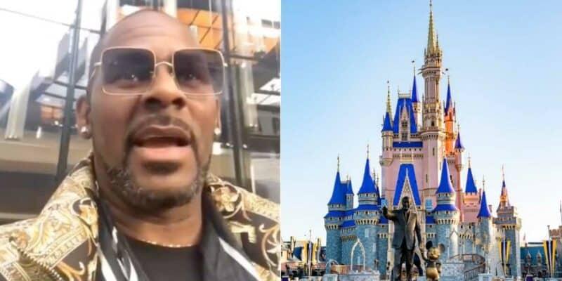 R. Kelly (left) Cinderella Castle (right)