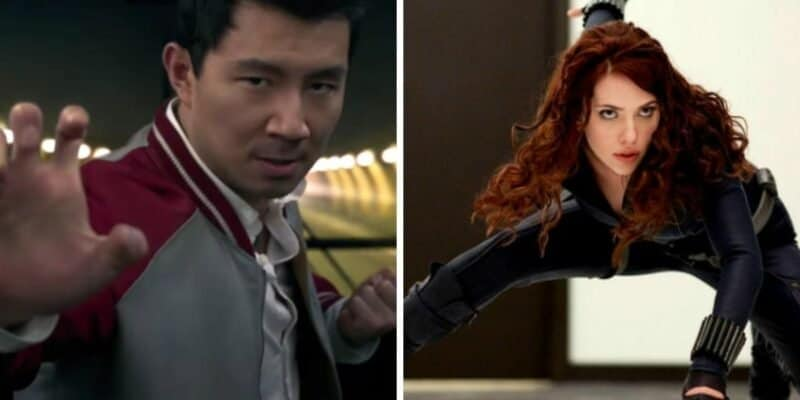 SHANG-CHI AND THE LEGEND OF THE TEN RINGS and BLACK WIDOW