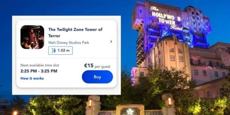 tower of terror disneyland paris