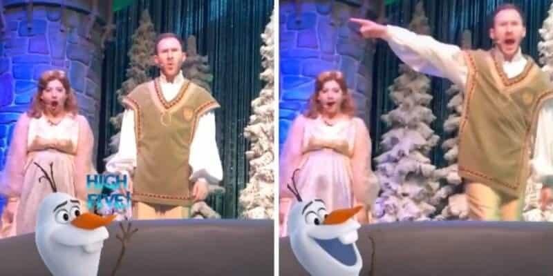 frozen sing along show