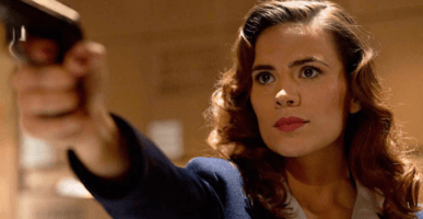 """Sharon Carter (Hayley Atwell) in """"Captain America: The First Avenger"""" (2011)"""