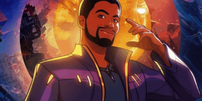 """T'Challa/Star-Lord in Marvel's """"What If...?"""""""