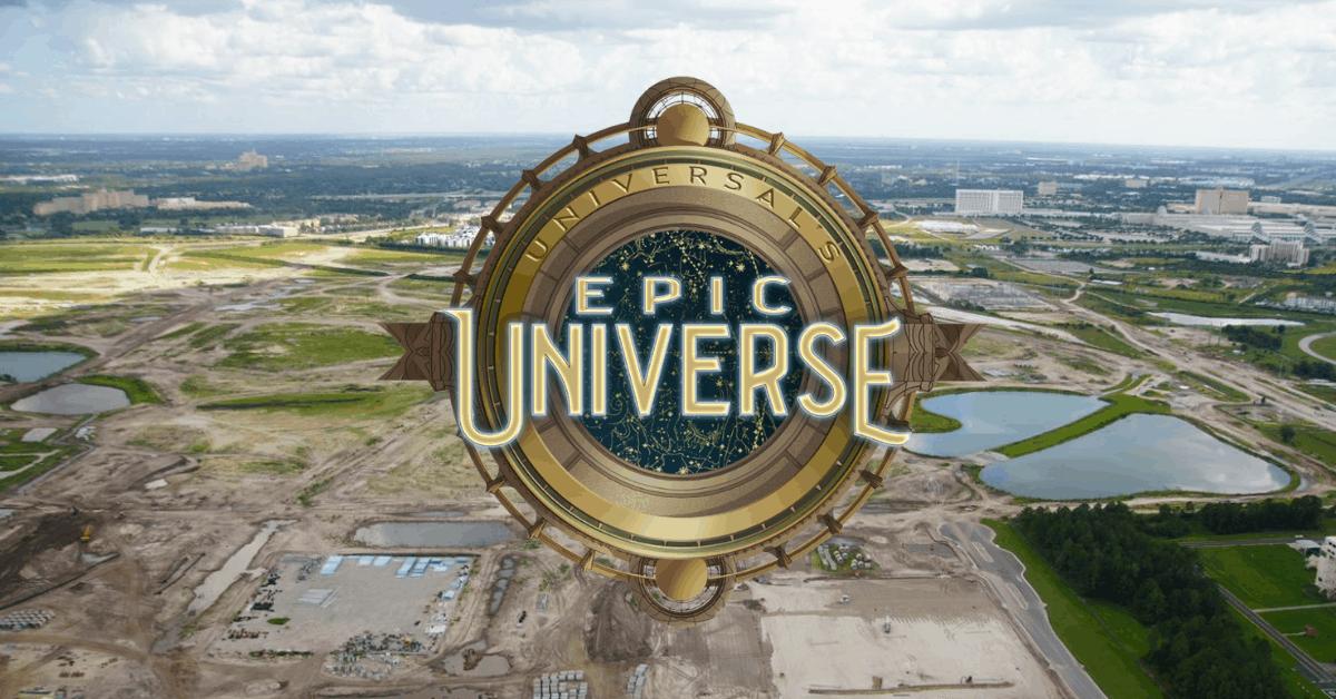 Universal's Epic Universe Begins Taking Shape - Inside the Magic