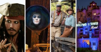 johnny depp pirates, haunted mansion, jungle cruise, tower of terror