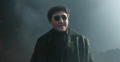 """Alfred Molina's Doctor Octopus in """"Spider-Man: No Way Home"""" (2021)"""