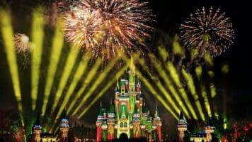 WDW Christmas Fireworks