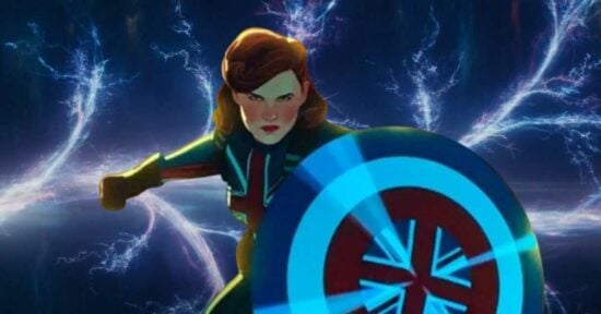 captain carter from what if on disney plus voiced by hayley atwell and loki branchign timelines
