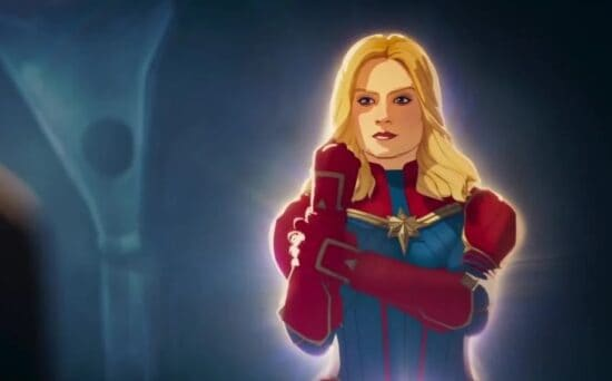 carol danvers aka captain marvel in what if episode 3 voice by alexandra daniels