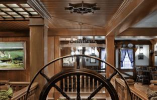 columbia harbour house captain's wheel