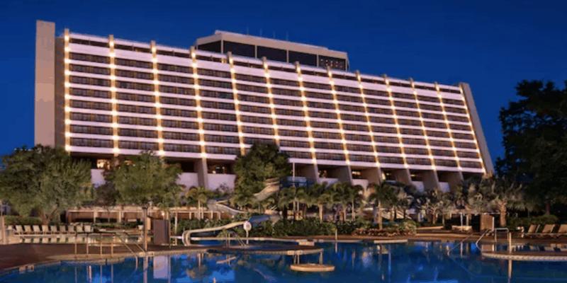 contemporary resort exterior