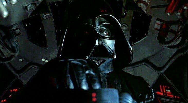 darth vader tie fighter cockpit