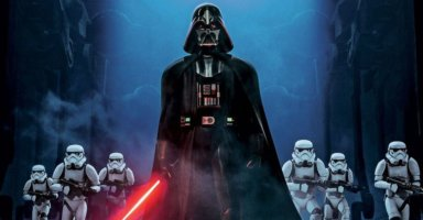 darth vader with stormtroopers in star wars rebels