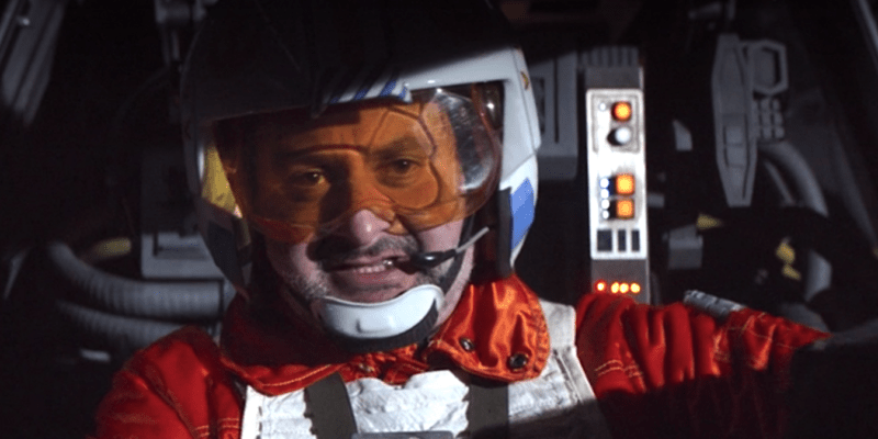 dave filoni as trapper wolf in x wing