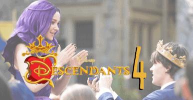descendants 4 is the royal wedding