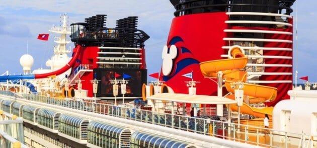 disney cruise line stacks