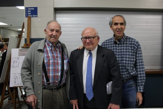 ed asner with fans
