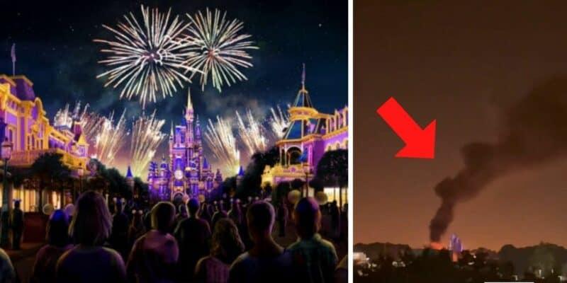 magic kingdom fire