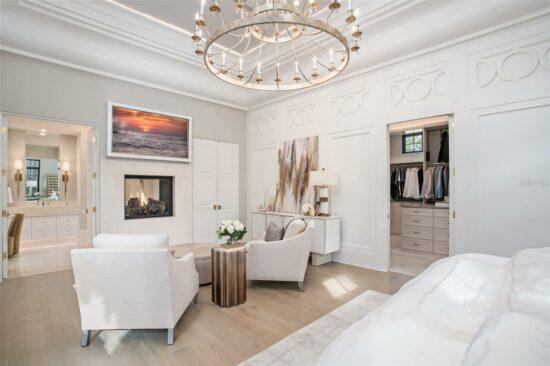 golden oak home master bedroom 2