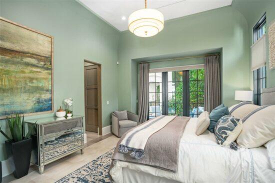 golden oak home bedroom