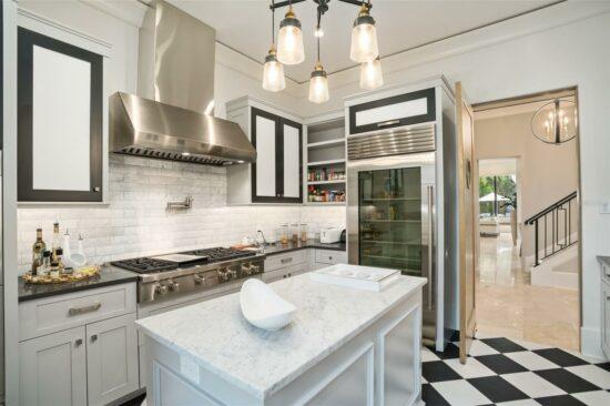 golden oak home catering kitchen