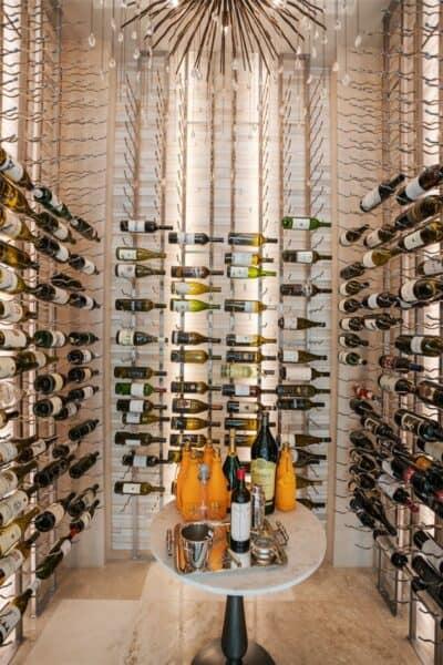 golden oak home wine vault