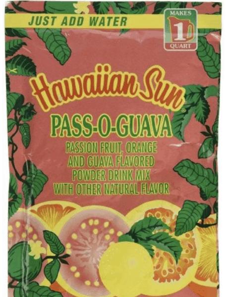 hawaiian sun pass-o-guava juice
