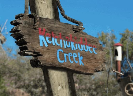 ketchakiddee creek sign