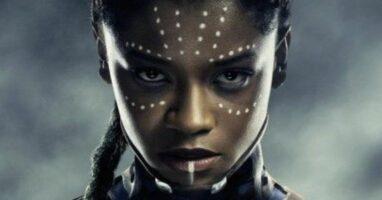 letitia wright as princess shuri in black panther