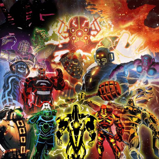 marvel comics celestials