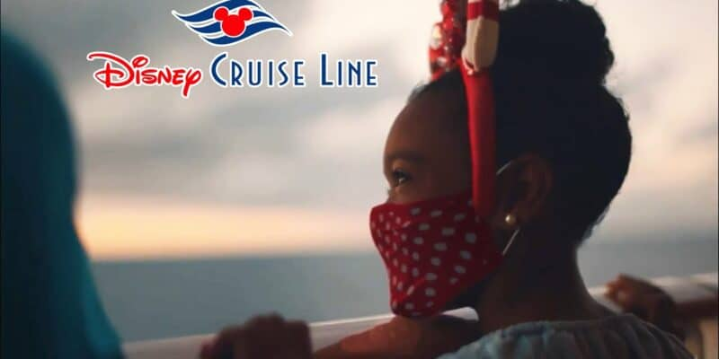 disney cruise line Guest wearing mask