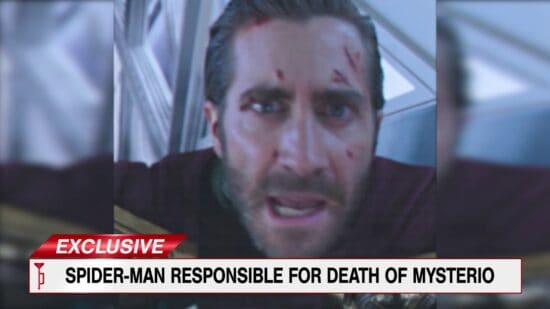 jake gyllenhaal as mysterio, spider-man 2
