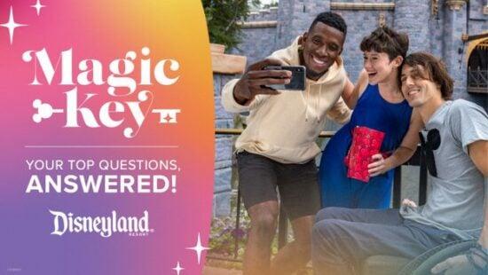 disneyland magic key faq