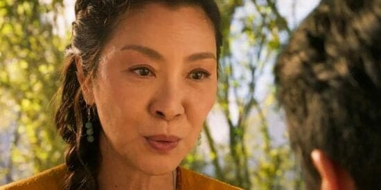 michelle yeoh as Jiang Nan in marvel shang chi and the legend of the ten rings