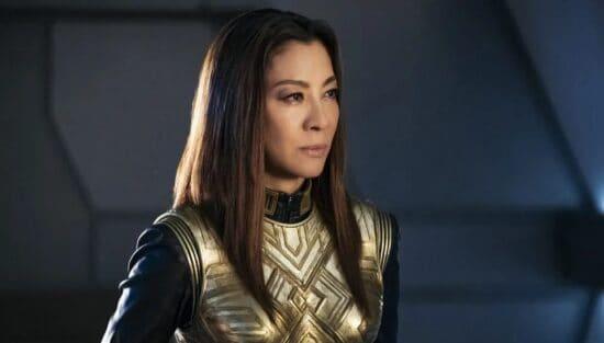 michelle yeoh as Philippa Georgiou in Star Trek Discovery