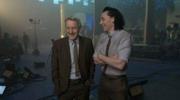 owen wilson (left) and tom hiddleston (right)