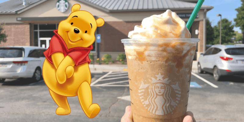 Winnie the Pooh Bear Frappuccino header