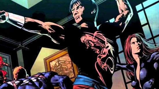 shang-chi avengers comics