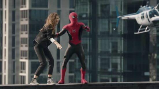 zendaya and tom holland spider-man 3