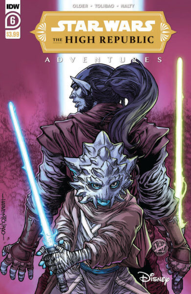 star wars the high republic adventures 6 cover preview