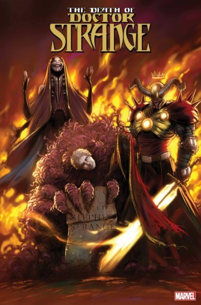 the death of doctor strange 3 cover