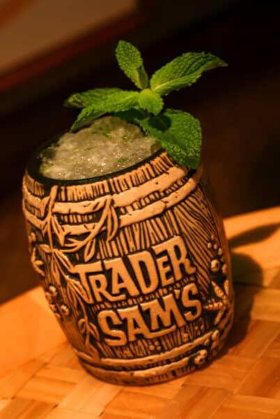 trader sam's enchanted tiki bar souvenir mug
