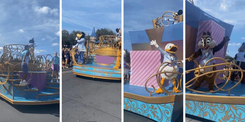 Mickey's celebration cavalcade