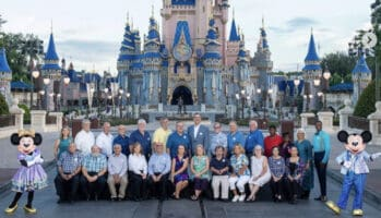 Cast members at Walt disney world resort