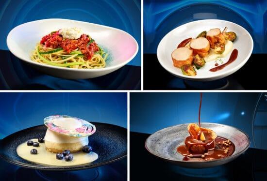 food at space 220 restaurant at epcot