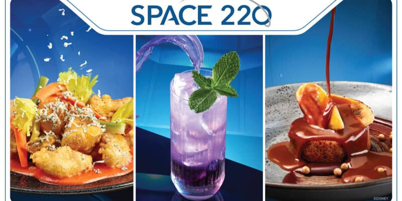space 220 restaurant food and drink options